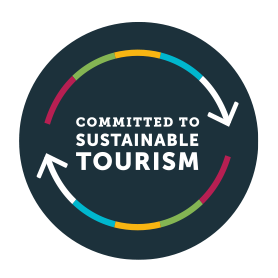 Commited to Sustainale Tourism badge